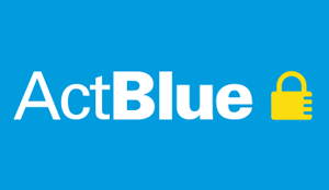 ActBlue donation button